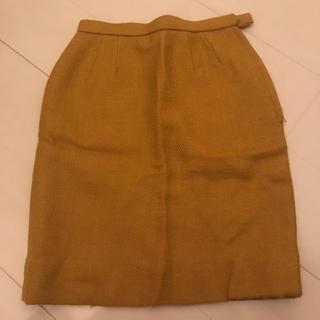 ロキエ(Lochie)のマスタード色ミニスカート(ミニスカート)