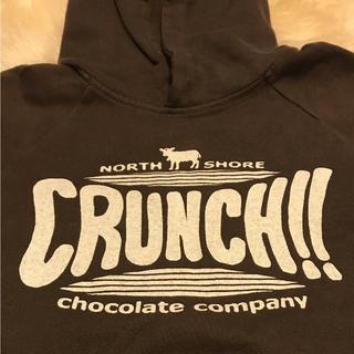 ノースショアチョコレートカンパニー(NORTH SHORE CHOCOLATE COMPANY)の未使用 フード付きパーカー(パーカー)