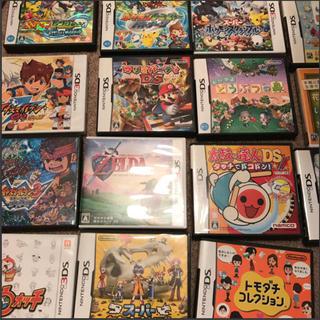 ニンテンドウ(任天堂)のニンテンドーDS、3DSソフト、カセットまとめ売り(携帯用ゲームソフト)