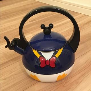 ディズニー(Disney)の新品☆ドナルド ケトル やかん(調理機器)