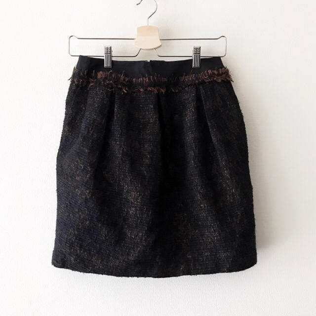 Demi-Luxe BEAMS(デミルクスビームス)のLAPIS LUCE PER BEAMS コクーン スカート  レディースのスカート(ひざ丈スカート)の商品写真