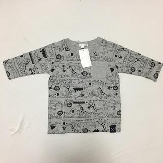 サンカンシオン(3can4on)の新品♡未使用♡100cm♡ロンT♡(Tシャツ/カットソー)
