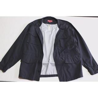 シュプリーム(Supreme)のvintage supreme jacket navy ヘリンボーン(ブルゾン)