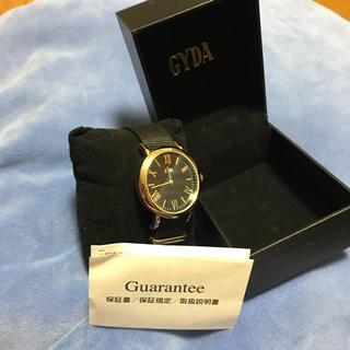 ジェイダ(GYDA)のGYDA ノベルティ時計(腕時計)