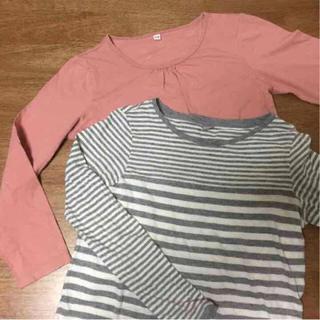 ムジルシリョウヒン(MUJI (無印良品))の無印 ユニクロ カットソーセット(Tシャツ/カットソー)