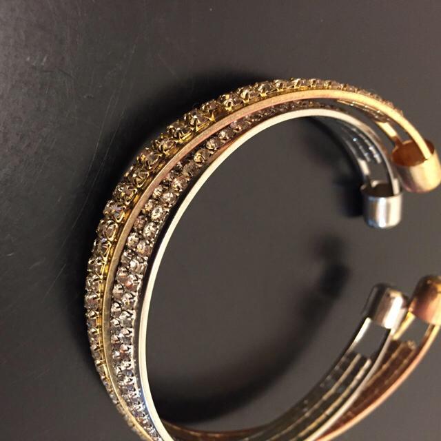 バングル ゴールド メンズのアクセサリー(ブレスレット)の商品写真