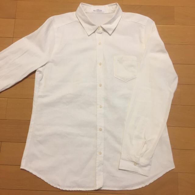 RayCassin(レイカズン)のRay cassin 白くまトレーナー 白シャツ セット レイヤード レディースのトップス(トレーナー/スウェット)の商品写真