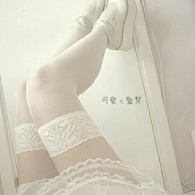 白タイツ/ストッキング レディースのレッグウェア(タイツ/ストッキング)の商品写真