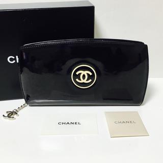シャネル(CHANEL)のシャネル メイクアップ ライン ラウンドファスナー 長財布‼︎(財布)