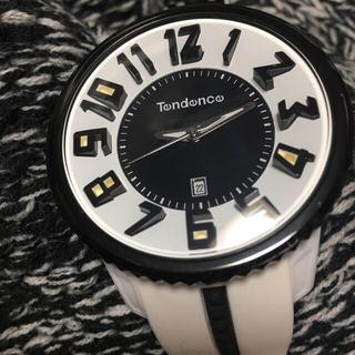 テンデンス(Tendence)のテンデンス ガリバーラウンド 白黒(腕時計(アナログ))