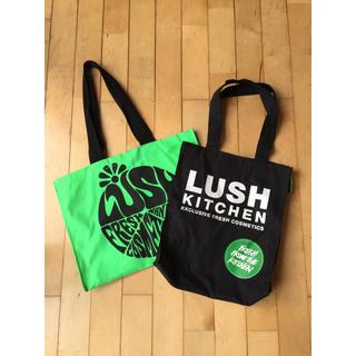 ラッシュ(LUSH)のLUSH  エコバッグ2点セット(エコバッグ)
