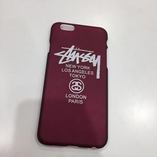 ステューシー(STUSSY)のiPhone6/6sケース(iPhoneケース)