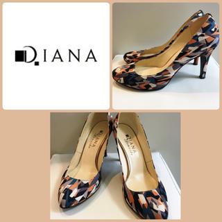 ダイアナ(DIANA)のらら様専用ページです♡ダイアナ♡マルチカラー パンプス♡(ハイヒール/パンプス)