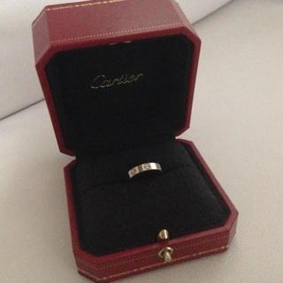 カルティエ(Cartier)の ライム様専用カルティエ ミニラブリング(リング(指輪))