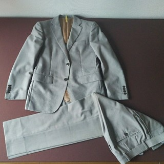 INHALE EXHALE 春夏 スーツ グレー(ホワイトストライプ) 165A