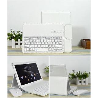 サムスン(SAMSUNG)のSamsungタッブレット用blue toothキーボード付き保護カバー(PC周辺機器)
