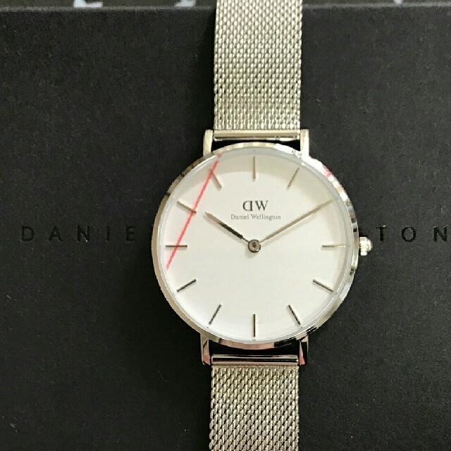 Daniel Wellington(ダニエルウェリントン)のシルバーメッシュベルトセール⤴ダニエルウェリントン32mm腕時計 レディースのファッション小物(腕時計)の商品写真