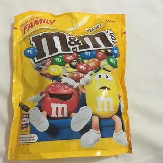 m&m's ファミリーサイズ ピーナッツ 2袋