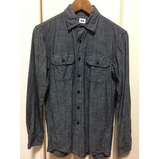 ユニクロ(UNIQLO)の【未使用】ユニクロデニムシャツ(シャツ)