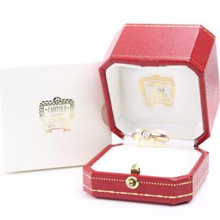 カルティエ(Cartier)の新品仕上♪カルティエ 3カラーダイヤリング #54 750K18正規品☆E030(リング(指輪))