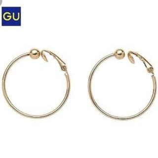 ジーユー(GU)の未使用品 GU メタルフープイヤリング(イヤリング)