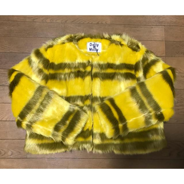Dolly&Molly(ドリーモリー)のDOLLY&MOLLY ファーコート レディースのジャケット/アウター(毛皮/ファーコート)の商品写真