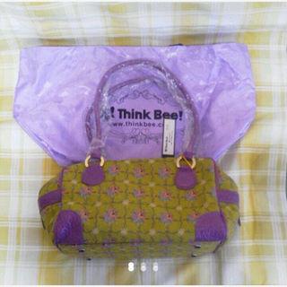 シンクビー(Think Bee!)のThinkBee!☆彡シンクビ-!花柄ボストンバッグ★新品(ボストンバッグ)