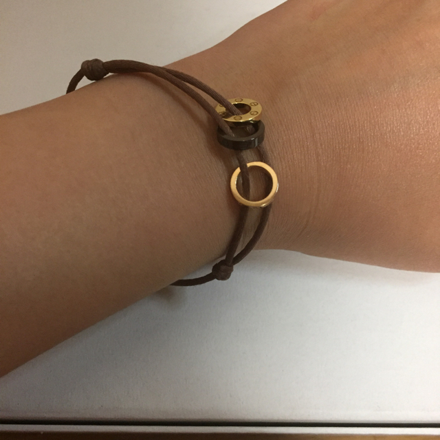 buy online 8d4a2 8f5fa Cartier カルティエ LOVE ブレスレット