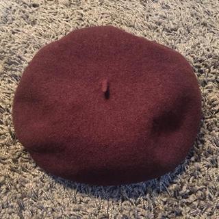ミラオーウェン(Mila Owen)のミラオーウェン ベレー帽(ハンチング/ベレー帽)