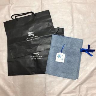 バーバリーブラックレーベル(BURBERRY BLACK LABEL)のバーバリーブラックレーベル ショップ袋(ショップ袋)