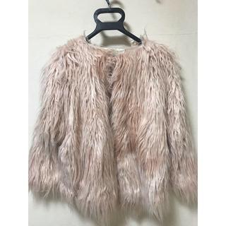 ザラキッズ(ZARA KIDS)のファーコート(毛皮/ファーコート)