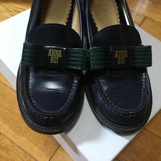 アナスイ(ANNA SUI)のANNA SUI × HARUTA コラボローファー(ローファー/革靴)