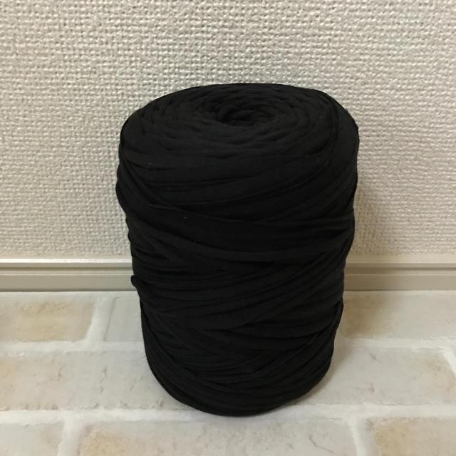 ☆みーちゃん様 専用☆ ズパゲッティ ブラック ハンドメイドの素材/材料(生地/糸)の商品写真