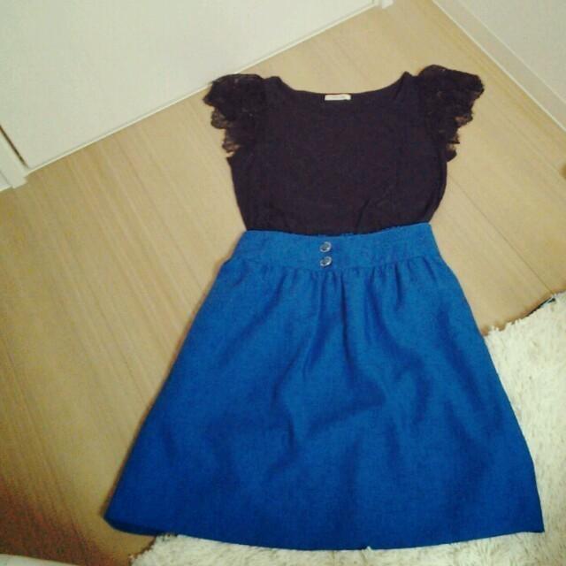 pour la frime(プーラフリーム)の♥SALE♥プーラフリーム♡スカート レディースのスカート(ひざ丈スカート)の商品写真