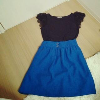 プーラフリーム(pour la frime)の♥SALE♥プーラフリーム♡スカート(ひざ丈スカート)