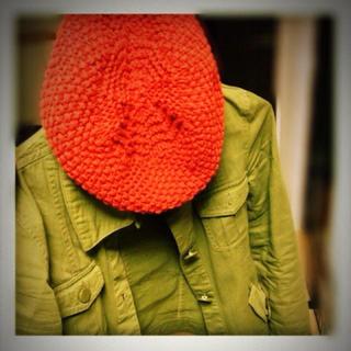 マウジー(moussy)の値下げmoussy☆ベレー帽(ハンチング/ベレー帽)