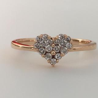 jasmineさん専用K18 ダイヤモンドリング(リング(指輪))