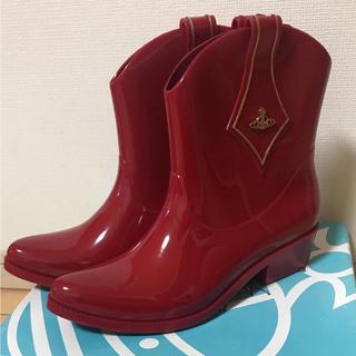 ヴィヴィアンウエストウッド(Vivienne Westwood)の(早い者勝ち)(新品)Vivienne Westwood ブーツ(レインブーツ/長靴)