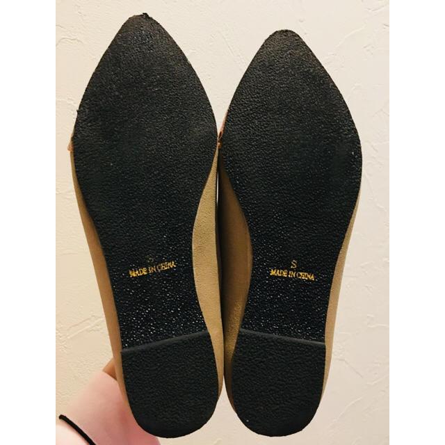 パイソン柄フラットパンプス レディースの靴/シューズ(ハイヒール/パンプス)の商品写真