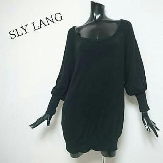 スライラング(SLY LANG)のSLY LANG*BASICワンピース(ミニワンピース)