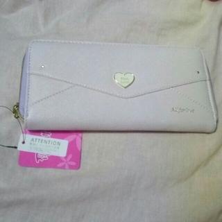 ピンクラテ(PINK-latte)のハートレター長財布♡(財布)
