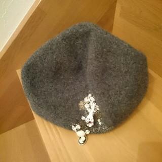 アンテプリマ(ANTEPRIMA)の最終お値段です。ANTEPRIMAベレー帽ビジュー等がついてます。(ハンチング/ベレー帽)
