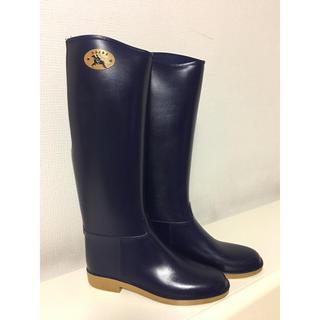 ダフナブーツ(Dafna Boots)のダフナ レインブーツ ネイビー(レインブーツ/長靴)