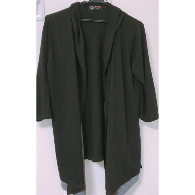 MICHEL KLEIN(ミッシェルクラン)のメンズ アウター 黒 7分丈 46サイズ メンズのジャケット/アウター(その他)の商品写真
