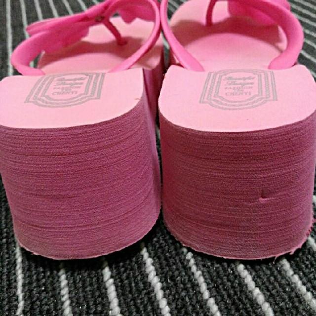ピンクのサンダル レディースの靴/シューズ(サンダル)の商品写真