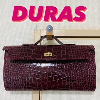 デュラス(DURAS)のデュラス クロコクラッチバッグ DURAS(クラッチバッグ)