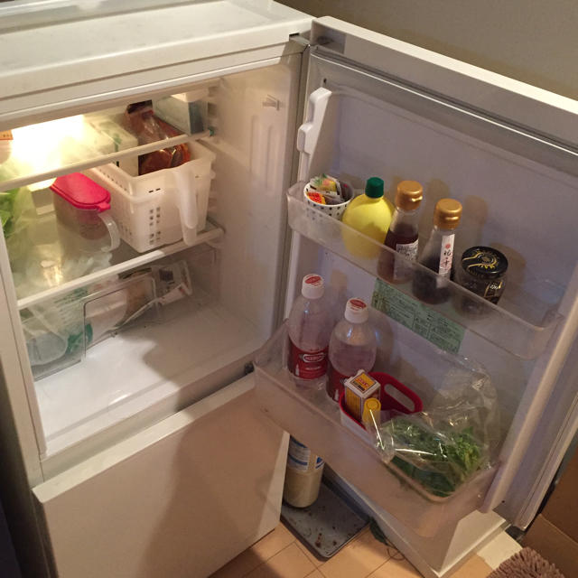 MUJI (無印良品)(ムジルシリョウヒン)の値下げ!無印 一人暮らし用冷蔵庫2ドア スマホ/家電/カメラの生活家電(冷蔵庫)の商品写真