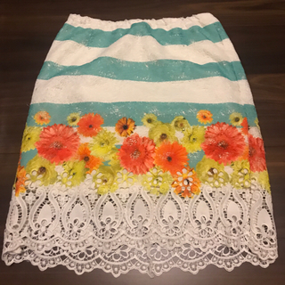 アンディ(Andy)のタイトスカート 9 美品(ミニドレス)