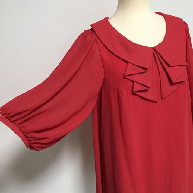 M.deux(エムドゥー)のエムドゥ デザイン シャツ  新品タグ付き レディースのトップス(シャツ/ブラウス(長袖/七分))の商品写真
