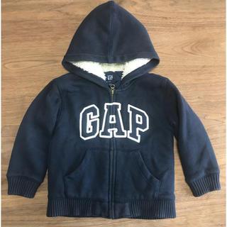 ベビーギャップ(babyGAP)のGAP 中綿入りスウェットパーカー 100(ジャケット/上着)